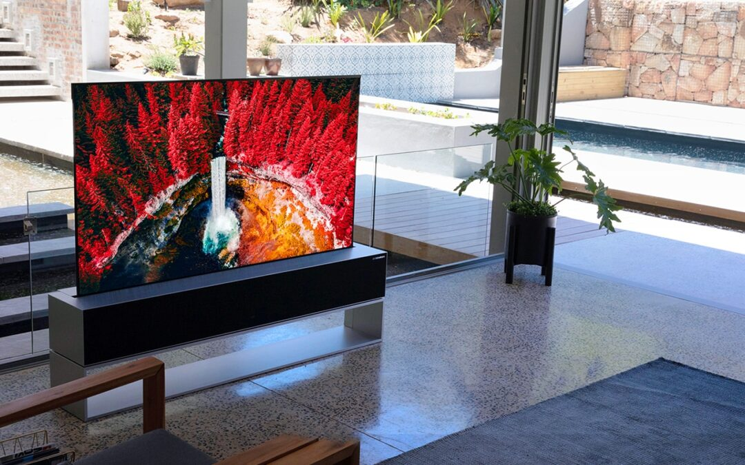 The world's first and only rollable TV has arrived.
