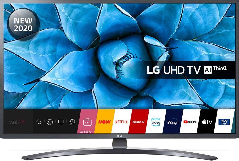 LG 65UN74006LB 65″ Smart 4K Ultra HD HDR LED TV- With WIFI