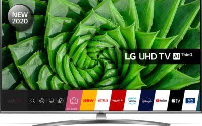 LG 65UN81006LB 65″ Smart 4K Ultra HD HDR LED TV with Google Assistant & Amazon Alexa